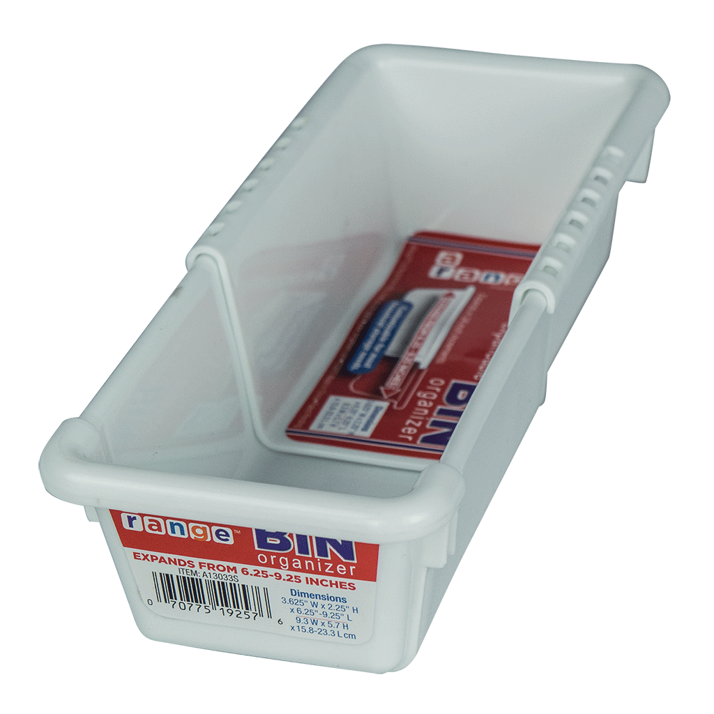 ... A13033S Expandable Bin Organizer 3 X 6 9 Inches Range Kleen