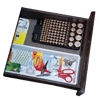 Photo of battery storage organizer in drawer organized