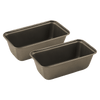 B10ML 2 Pack Non-Stick Mini Loaf Pan Range Kleen sitting side by side