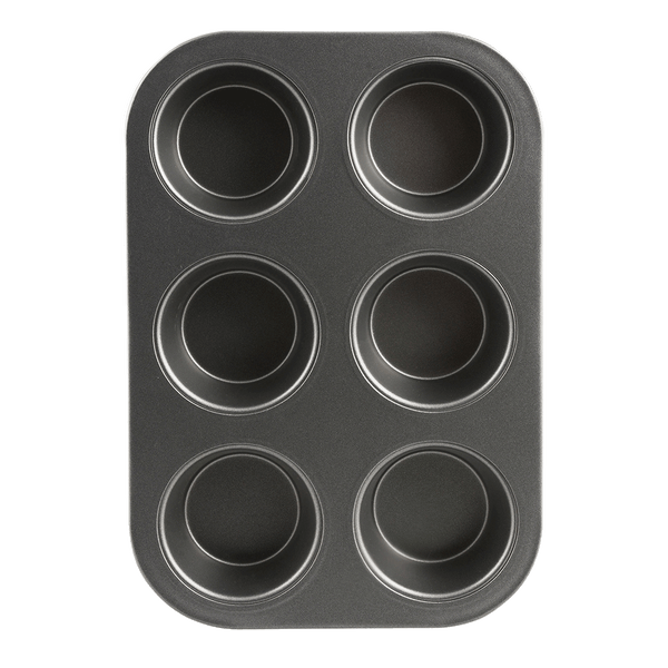 B13M6 Non-Stick 6 Cup Muffin and Cupcake Pan Range Kleen