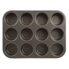B14M12 Non-Stick 12 Cup Muffin and Cupcake Pan Range Kleen