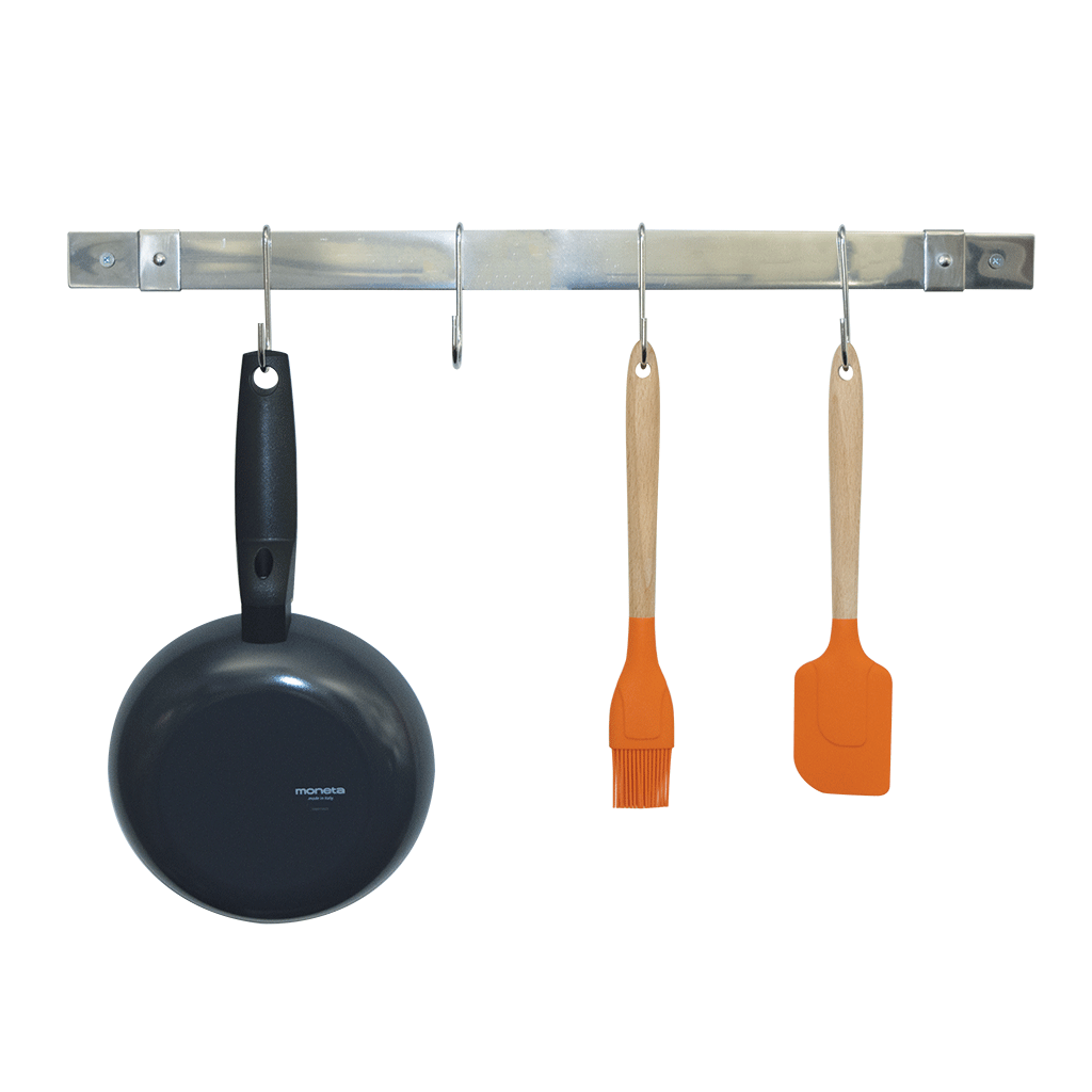 CW6012 - Stainless Steel Expanding Pot Rack Bar