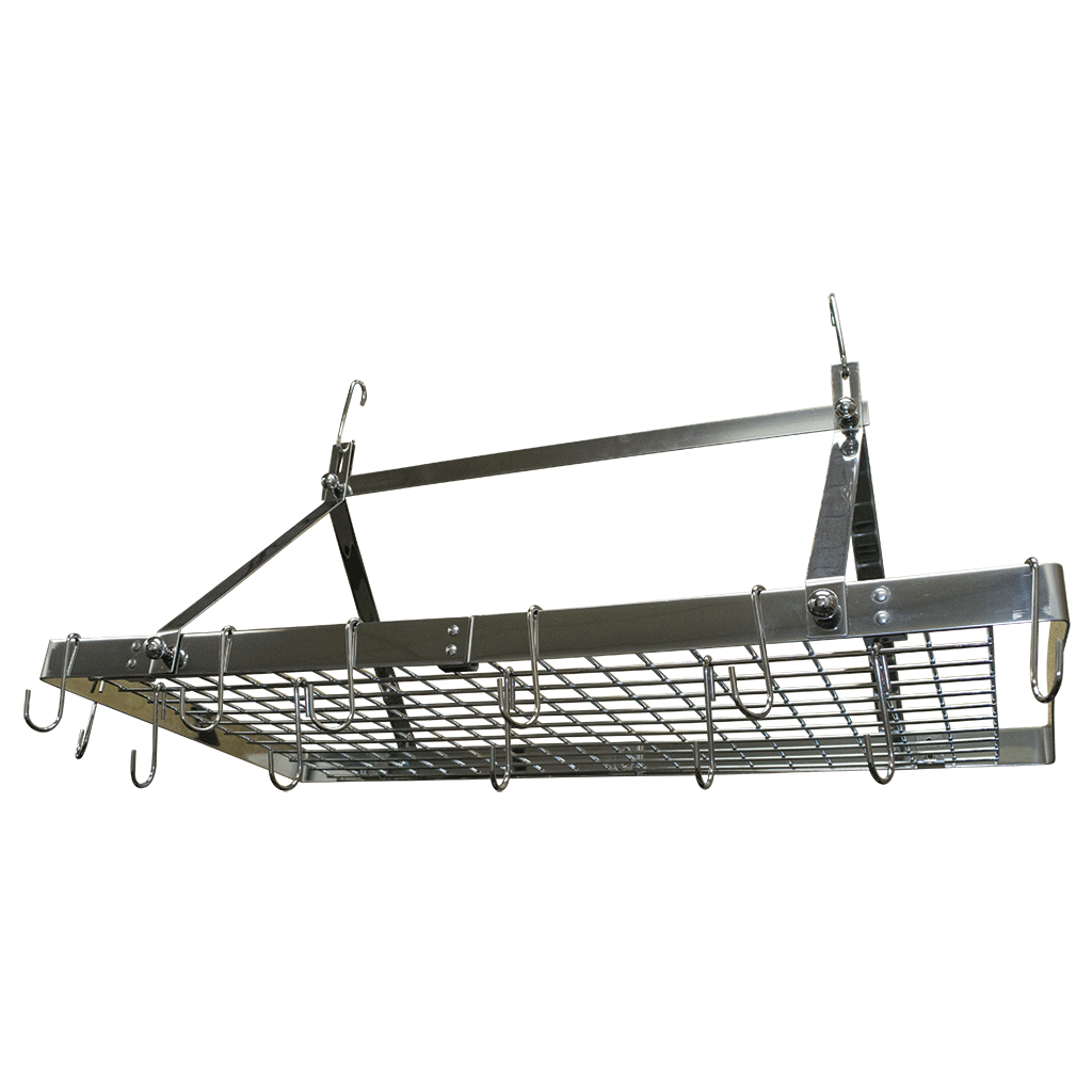 Stainless Steel Hanging Pot Rack Cosmecol