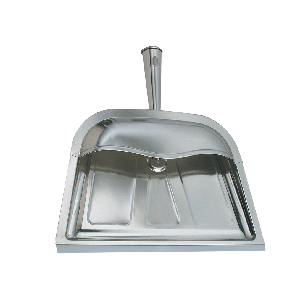 DP1SS Silver Hooded Dust Pan Range Kleen