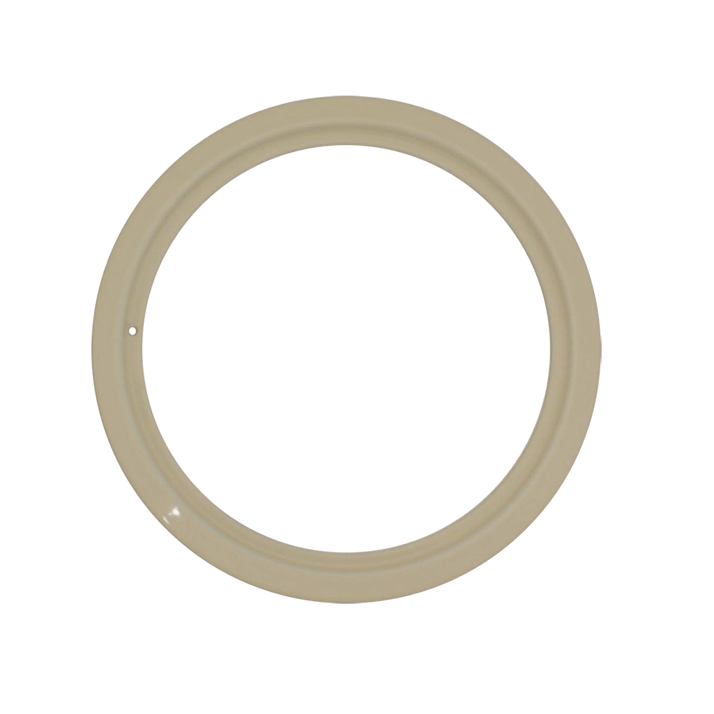 PR8GEA - Style D Large Heavy Duty Almond Porcelain Trim Ring
