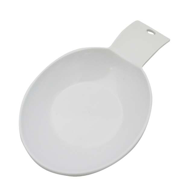 SR8BG - White Melamine Spoon Rest