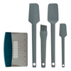 TD1004 Taste of Home 6 Piece Kitchen Tools Set, Ash Gray