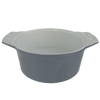 baking dish without lid angled view