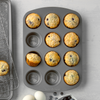 muffins in 12 cup muffin pan