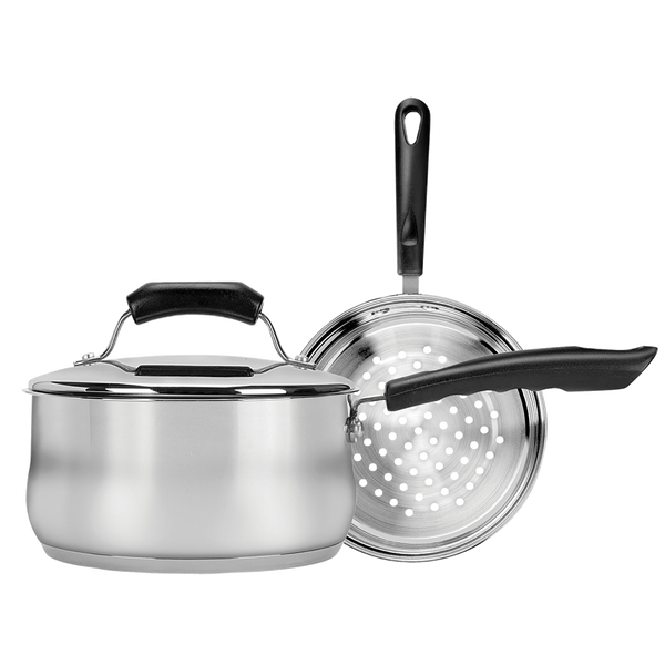 CW2006S - Basics 2 Qt Covered Steamer Set