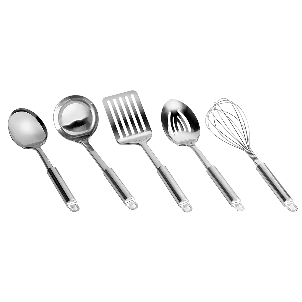 CW3013R - 5-Piece Preferred Stainless Steel Kitchen Tool Set