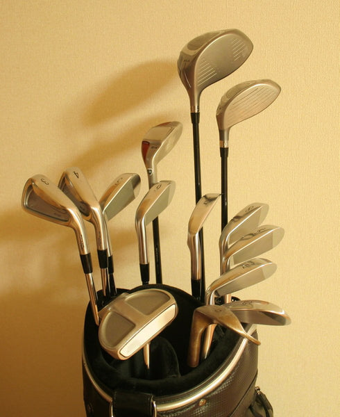 Gold-plated Golf Clubs