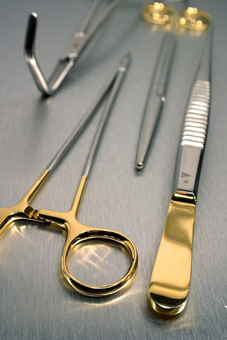 Gold Plate Medical Instruments