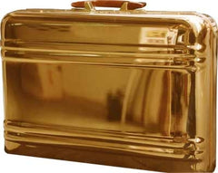 Gold Plated Briefcase