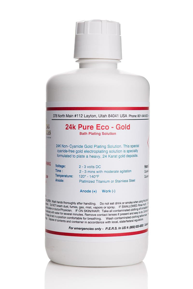 Pure Eco - Gold Plating SolutionPure Eco - Gold Plating Solution