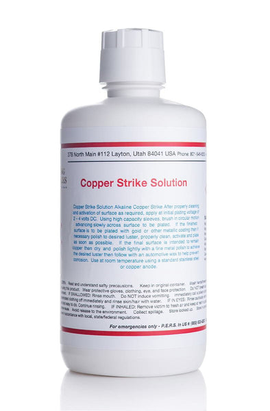 Copper Strike Solution - Bath or Brush