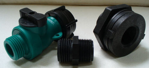 Rain Barrel Garden Hose Connection Kit