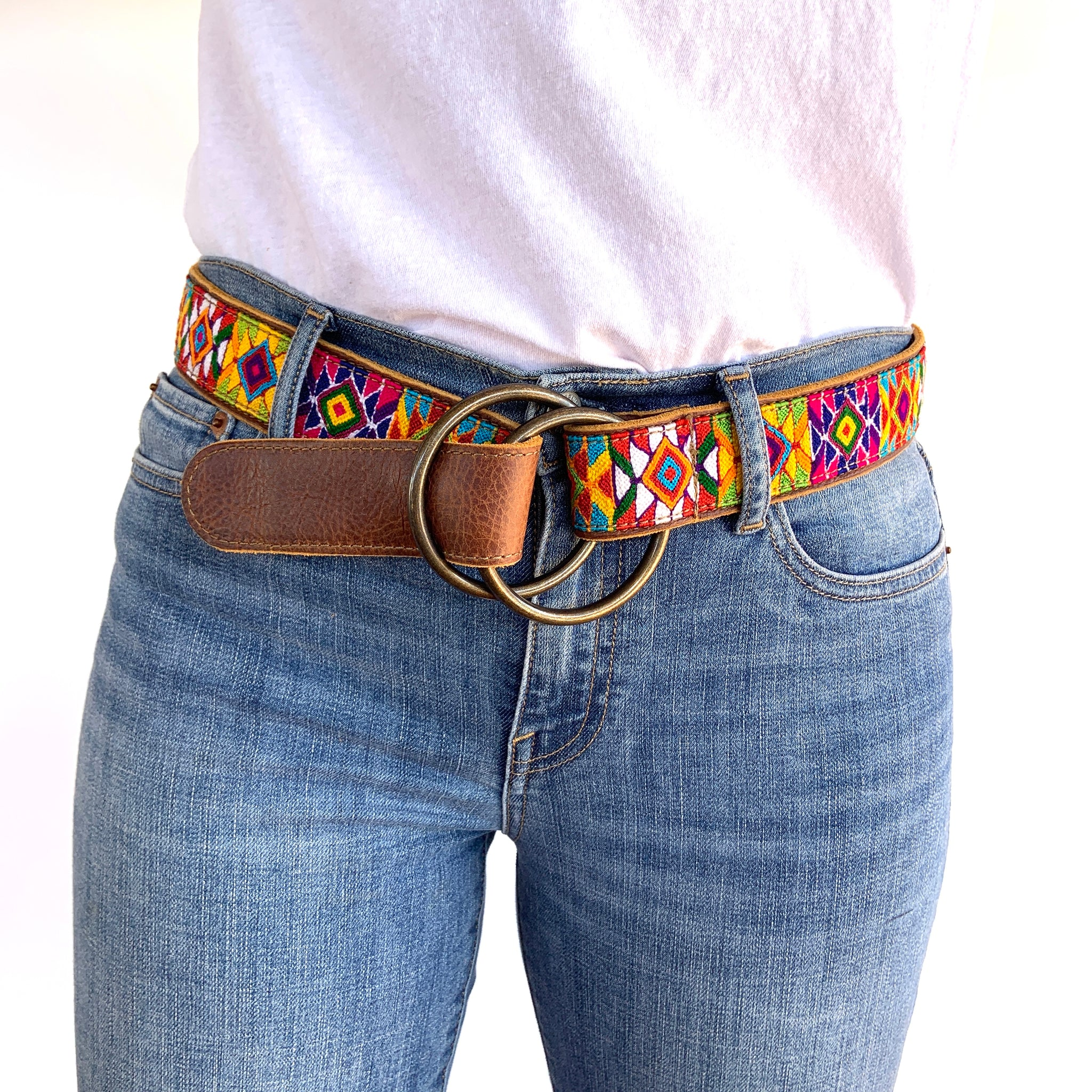 Virginia O-Ring Belt Large -WS