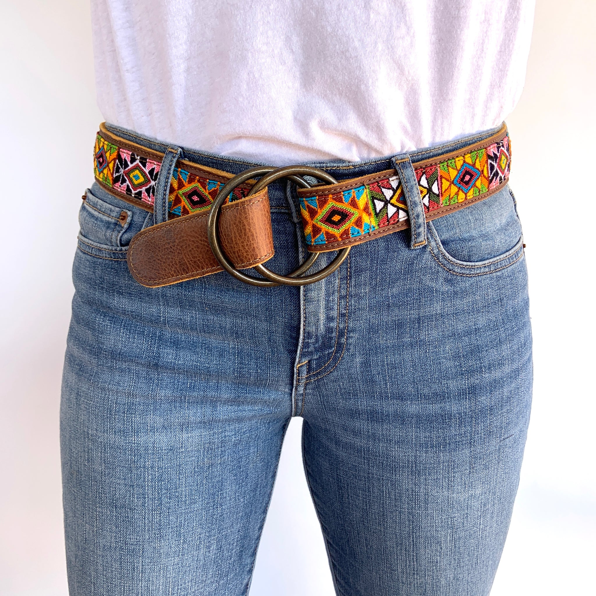 Virginia O-Ring Belt Medium -WS