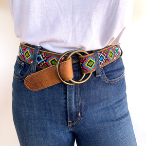 Virginia O-Ring Belt Small -WS