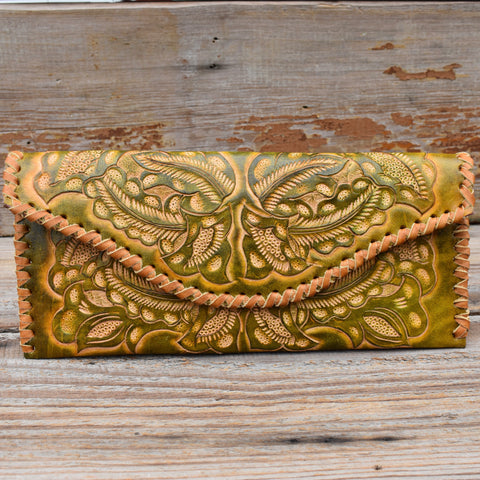 Simone Tooled Clutch