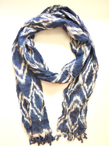 Nora Ikat Scarf -WS