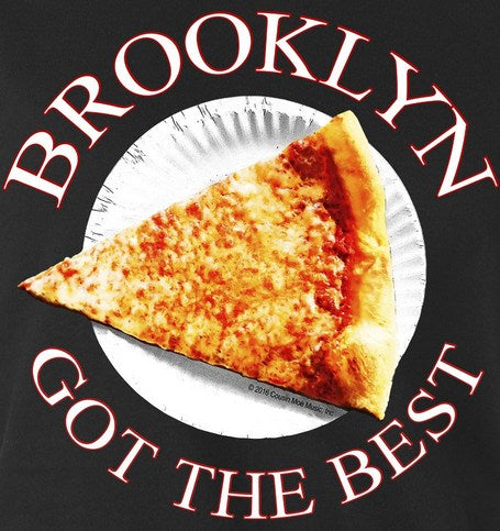 Brooklyn Got The Best Pizza  Short Sleeve T Shirt & Two 4 Song CDs Stimulus Package