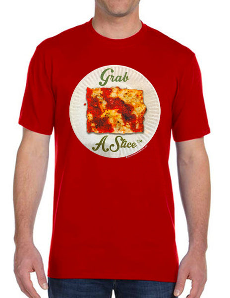 Grab A Slice® Short Sleeve T RED & Two 4 Song CD Stimulus Package