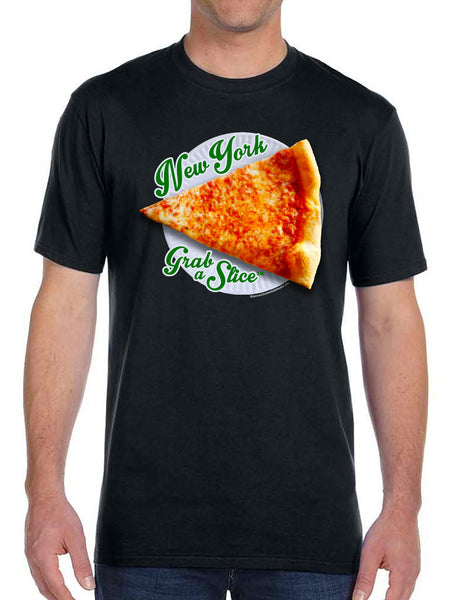 New York Grab A Slice® Men's / Unisex  Short Sleeve T Stimulus Package!