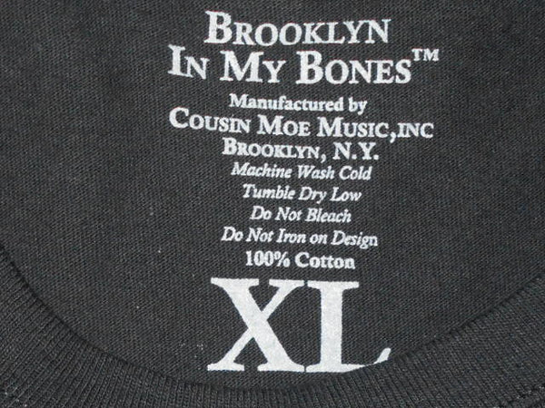 Brooklyn In My Bones®Short Sleeve T shirt BLACK, & Two 4 Song CDs Stimulus Package