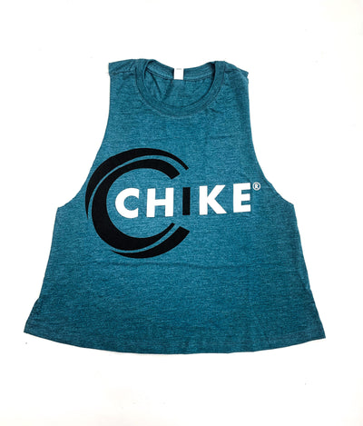 CHIKE RACERBACK CROPPED TANK