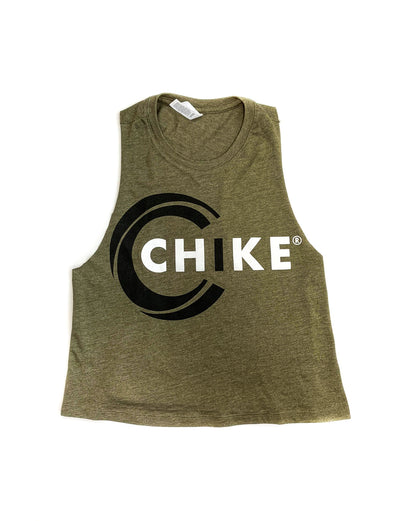 CHIKE RACERBACK CROPPED TANK (BFCM)