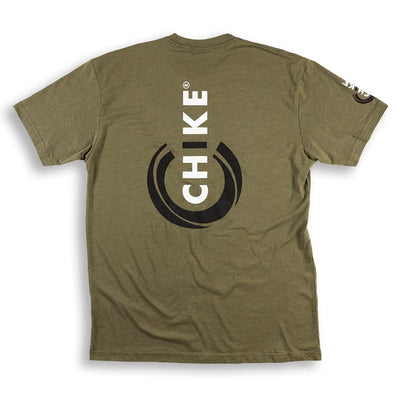 POWERED BY CHIKE LOGO T-SHIRT
