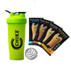 HIGH PROTEIN ICED COFFEE SAMPLER PACK + CHIKE BLENDERBOTTLE