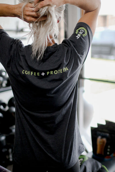 COFFEE + PROTEIN T-SHIRT