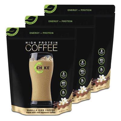 LIMITED HIGH PROTEIN ICED COFFEE | 3-PACK + FREE SHIPPING