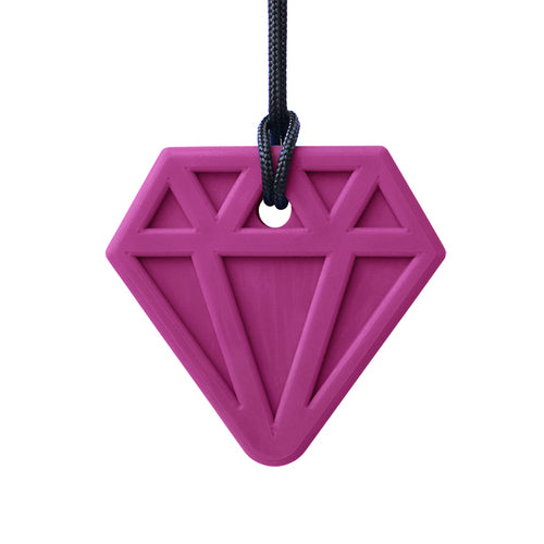 Ark's Diamond Chewable Jewel Necklace - Magenta (Standard)