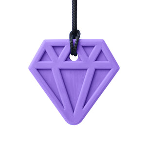 Ark's Diamond Chewable Jewel Necklace - Lavender (XXT - Toughest)