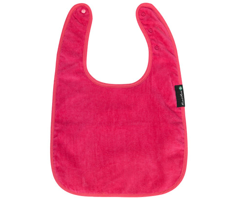 Mum2Mum Special Needs Back Snap Feeding Apron - Cerise