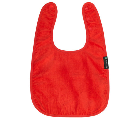 Mum2Mum Special Needs Back Snap Feeding Apron - Red