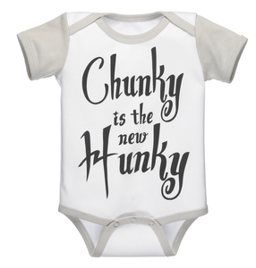 Chunky is the New Hunky Diaper Shirt (0-6 months)