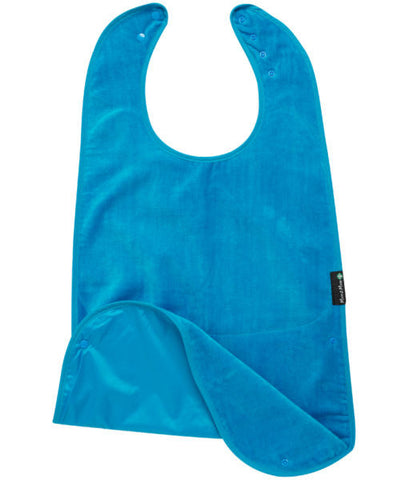 Mum2Mum Special Needs Back Snap Feeding Apron - Teal (Super sized)