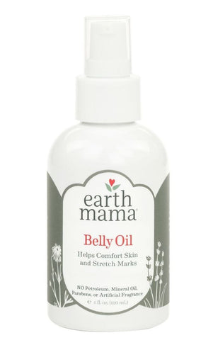 Earth Mama Belly Oil - 4 oz