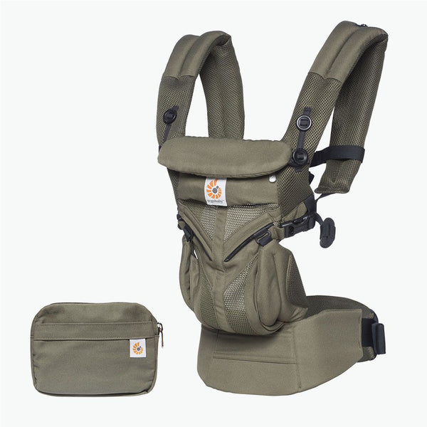 Ergobaby Omni 360 Cool Air Mesh Baby Carrier - Khaki Green