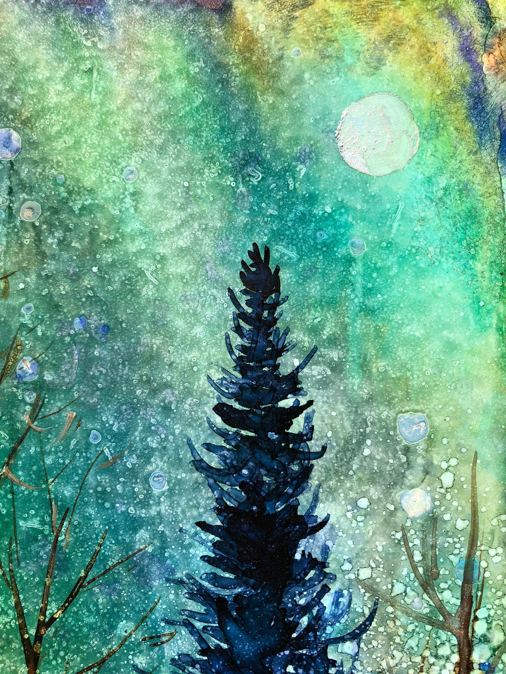 Ethereal Night Landscape : Prints