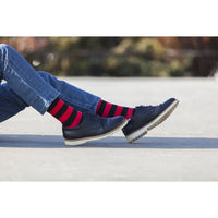 Men's 5-Pair Colorful Striped Socks