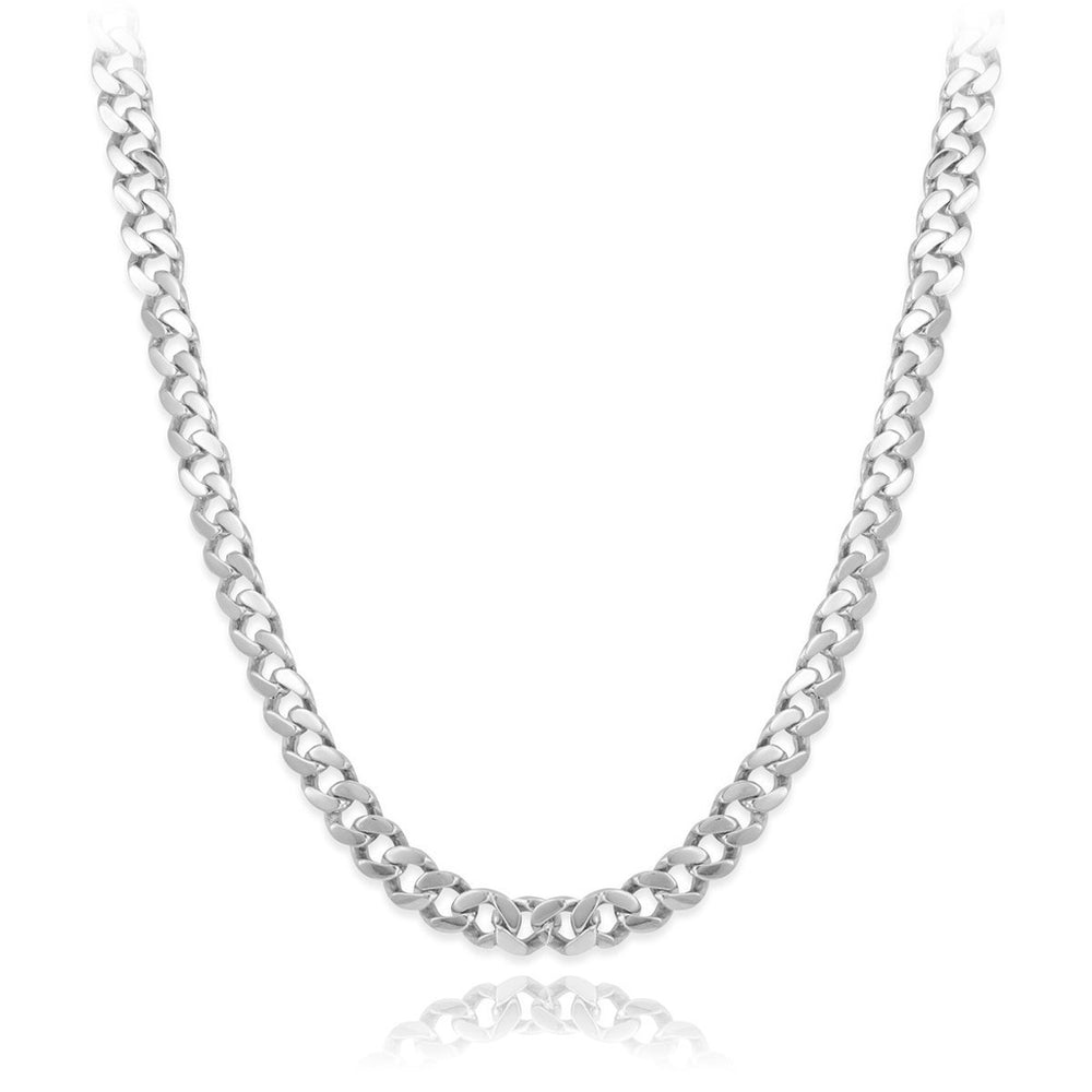 Men's Cuban Curb Link Chain Necklace 26""