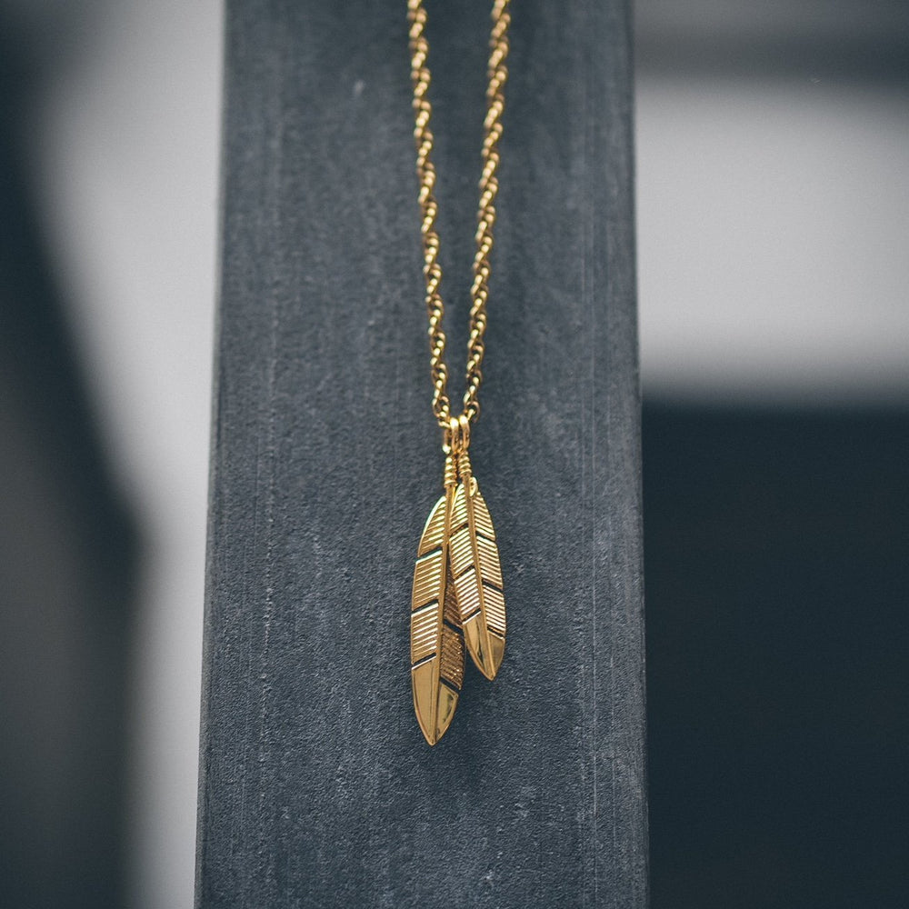 Mister Feather Necklace