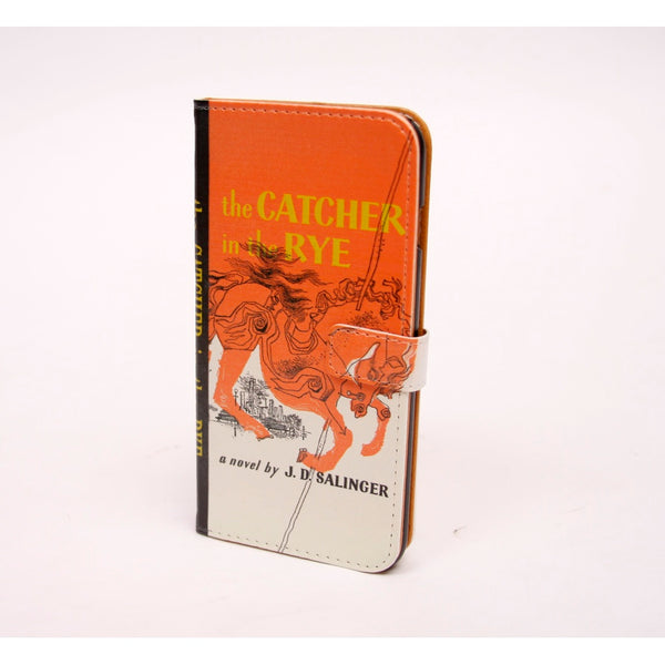 Catcher in the Rye phone flip case wallet for iPhone and Samsung