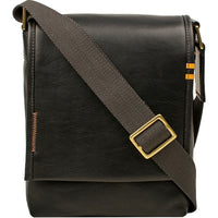 Seattle Unisex Leather Crossbody Messenger